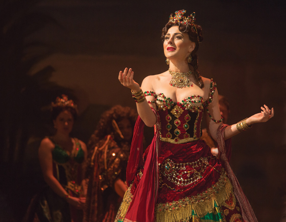 <p>Jacquelynne Fontaine takes on the role of Carlotta.</p><br />(© Matthew Murphy)