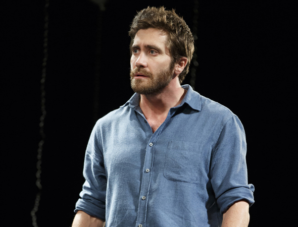 <p>Jake Gyllenhaal makes his Broadway debut as Roland, a beekeeper.</p><br />(© Joan Marcus)