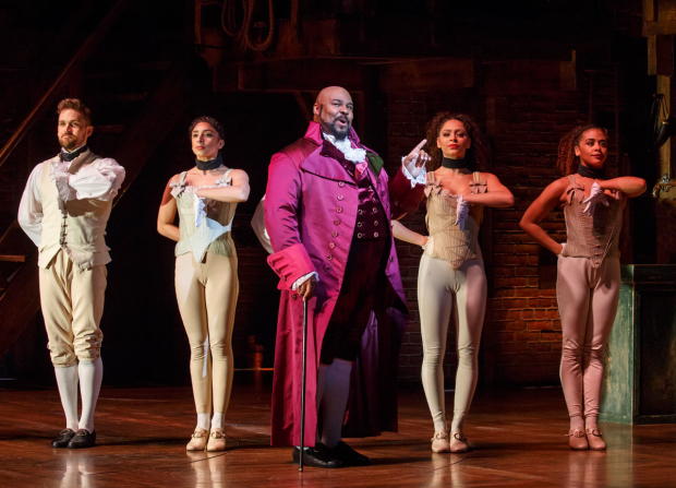 <p>James Monroe Iglehart finds out just what he&#39&#x3B;s missed.</p><br />(© Joan Marcus)