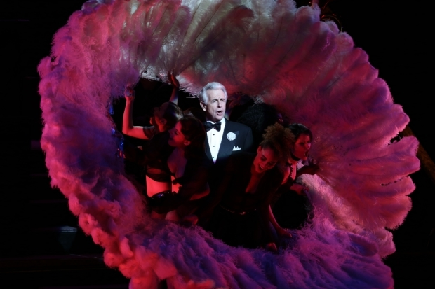 <p>James Naughton won a Tony Award for his performance as Billy Flynn in <em>Chicago</em>.</p><br />(© Tricia Baron)