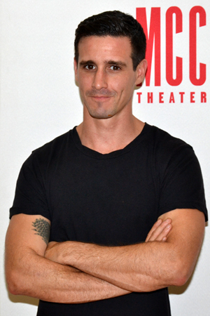 <p>James Ransone, who recently appeared on AMC's <em>Low Winter Sun</em>, is also part of the company.</p><br />(© David Gordon)