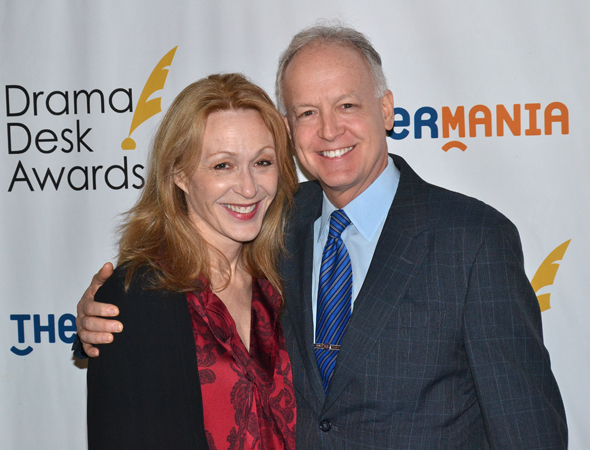 <p>Jan Maxwell and Reed Birney — Outstanding Featured Actress/Actor in a Play nominees for <em>The Castle</em> and <em>Casa Valentina</em>, respectively.</p><br />(© David Gordon)