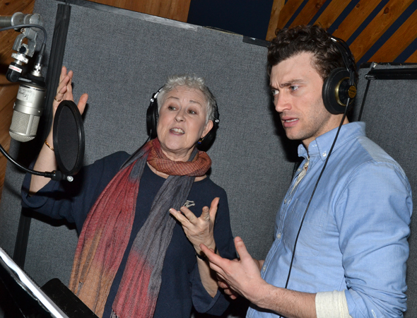 <p>Jane Carr joins Pinkham to lay down a take of &quot&#x3B;You&#39&#x3B;re a D&#39&#x3B;Ysquith.&quot&#x3B;</p><br />(© David Gordon)