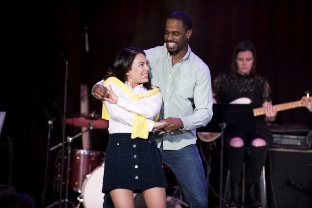 <p>Janel Parris stars as Cecile alongside Jared Dixon as Ronald.</p><br />(© Jenny Anderson)