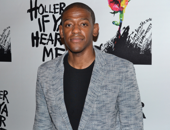 <p>Jared Grimes of Broadway&#39&#x3B;s <em>After Midnight</em> serves as the associate choreographer of <em>Holler If Ya Hear Me</em>.</p><br />(© David Gordon)