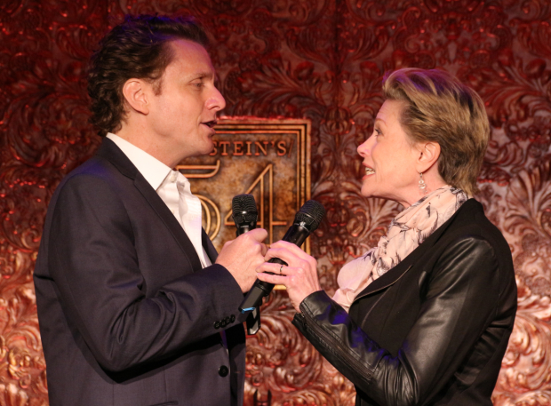<p>Jason Danieley and Marin Mazzie perform together at Feinstein&#39&#x3B;s/54 Below May 29-June 1.</p><br />(© David Gordon)