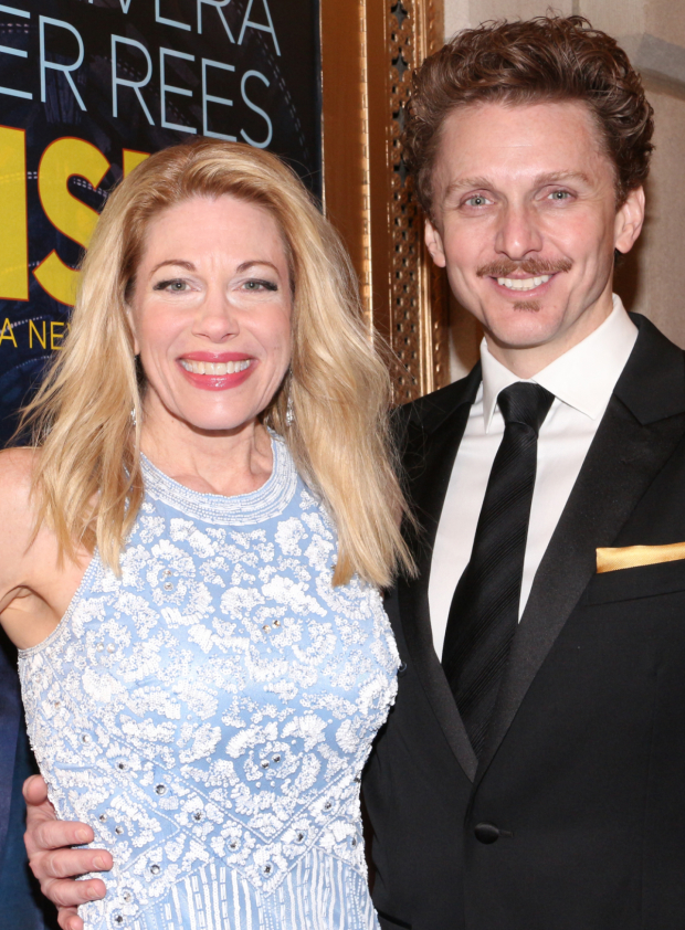 <p>Jason Danieley (seen here with his wife, Broadway favorite Marin Mazzie) plays schoolteacher Frederich Kuhn in the musical.</p><br />(© David Gordon)