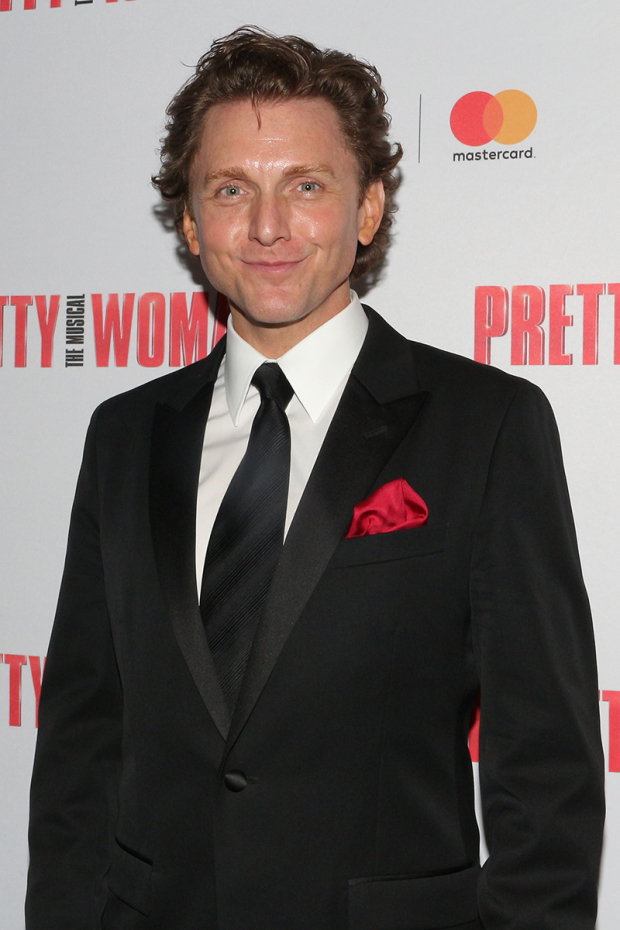 <p>Jason Danieley takes on the role of Philip Stuckey.</p><br />(© David Gordon)