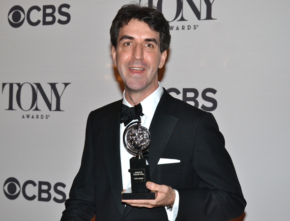 <p>Jason Robert Brown, a double winner for his score and orchestrations of <em>The Bridges of Madison County</em>.</p><br />(© David Gordon)