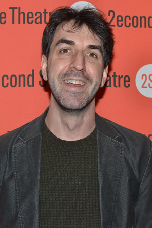 <p>Jason Robert Brown smiles for the cameras.</p><br />(© David Gordon)