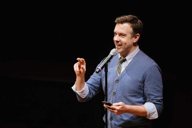 <p>Jason Sudeikis was a lively presence.</p><br />(© Da Ping Luo)