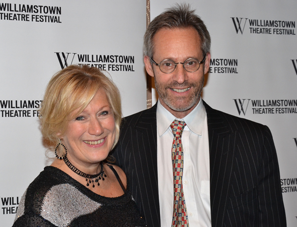 <p>Jayne Atkinson and Michael Gill were on hand to support the summer theater festival.</p><br />(© David Gordon)
