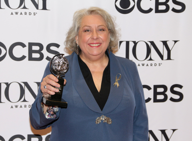 <p>Jayne Houdyshell, Best Actress in a Featured Role in a Play winner for <em>The Humans</em>.</p><br />(© David Gordon)