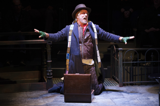 <p>Jeff McCarthy takes on the role of Fagin.</p><br />(© Margot Schulman)