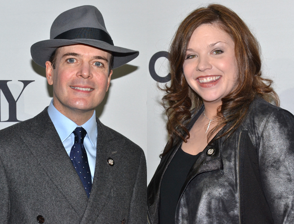 <p>Jefferson Mays (<em>A Gentleman&#39&#x3B;s Guide to Love and Murder</em>) and Mary Bridget Davies (<em>A Night With Janis Joplin</em>) are pleased to be nominated in Leading Actor/Actress in a Musical categories.</p><br />(© David Gordon)