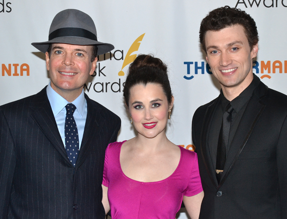 <p>Jefferson Mays, Lauren Worsham, and Bryce Pinkham — acting nominees for <em>A Gentleman&#39&#x3B;s Guide to Love and Murder</em>.</p><br />(© David Gordon)