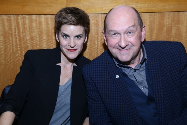 <p>Jenn Colella and Joel Hatch star as Beverley and Claude.</p><br />(© Tricia Baron)