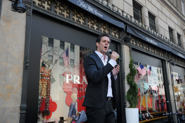<p>Jeremy Stolle is currently in <em>The Phantom of the Opera</em>.</p><br />(© Getty for Saks Fifth Avenue)