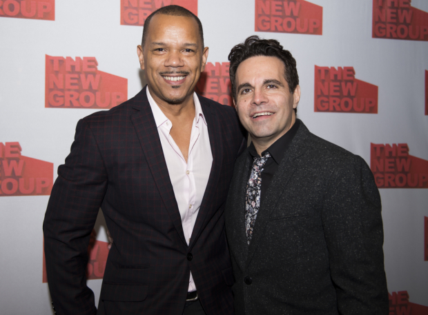 <p>Jerry Dixon and Mario Cantone lead the cast of The New Group&#39&#x3B;s <em> Steve</em>.</p><br />(© Allison Stock)