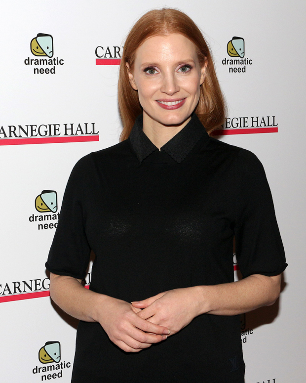 <p>Jessica Chastain performed Laura Wade&#39&#x3B;s &quot&#x3B;Goodness.&quot&#x3B;</p><br />(© David Gordon)