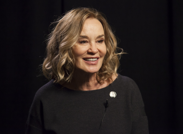 <p>Jessica Lange receives her first Tony nomination for <em>Long Day&#39&#x3B;s Journey Into Night</em>.</p><br />(© Seth Walters)