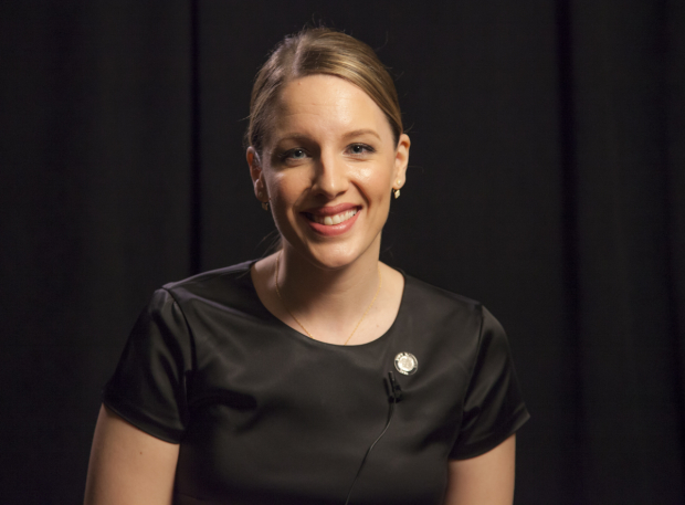<p>Jessie Mueller is proud to be nominated as Best Leading Actress in a Musical for Broadway&#39&#x3B;s <em>Waitress</em>.</p><br />(© Seth Walters)