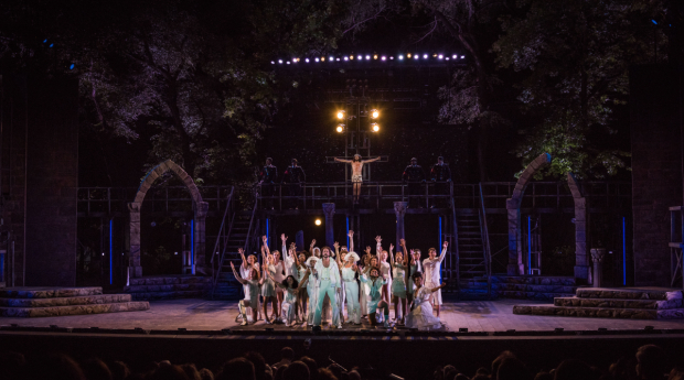 <p><em>Jesus Christ Superstar</em> continues performances through June 18.</p><br />(photo provided by the production)