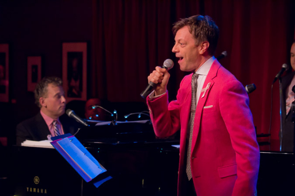 <p>Jim Caruso and Billy Stritch pepped up the crowd with &quot&#x3B;How Deep Is the Ocean?&quot&#x3B;</p><br />(© Seth Walters)