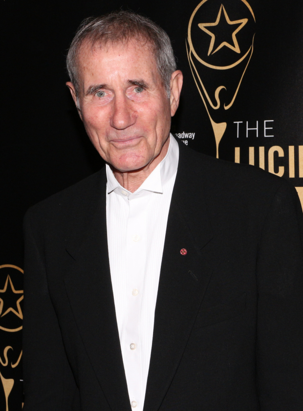 <p>Jim Dale is a nominee for his work in his solo show, <em>Just Jim Dale</em>.</p><br />(© David Gordon)