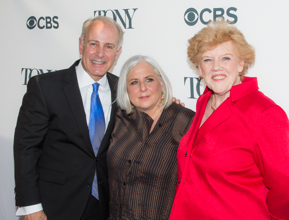 <p>Joe Benincasa, Joan Marcus, and Charlotte Wilcox are the recipients of the 2014 Tony Honors for Excellence in the Theatre.</p><br />(© Seth Walters)