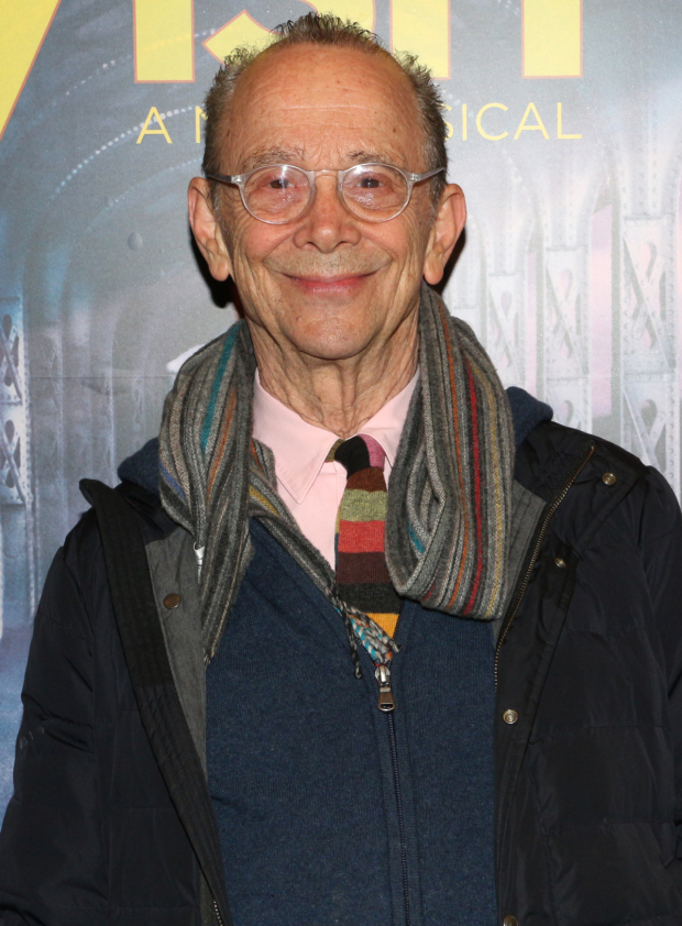 <p>Joel Grey is a Kander and Ebb original, winning a Tony and an Oscar for his performance as the Emcee in <em>Cabaret</em>.</p><br />(© David Gordon)