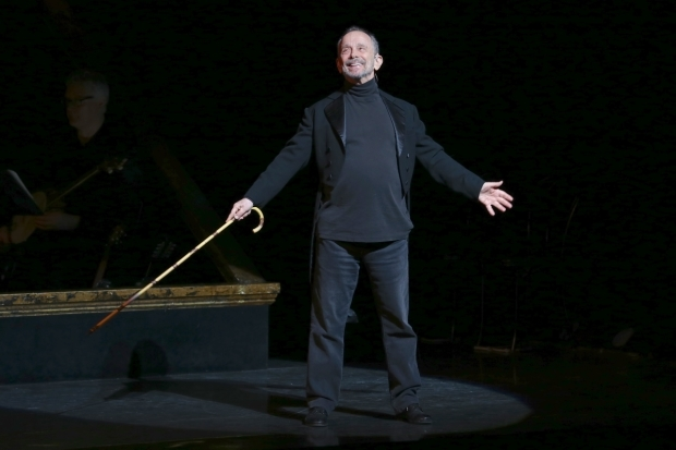 <p>Joel Grey played Amos Hart in the revival of <em>Chicago</em>.</p><br />(© Tricia Baron)