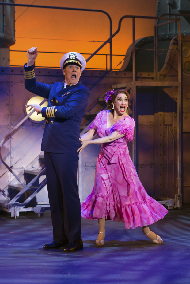 <p>John Bolton also plays the Captain opposite Lesli Margherita&#39&#x3B;s Mona Kent.</p><br />(© Jeremy Daniel)