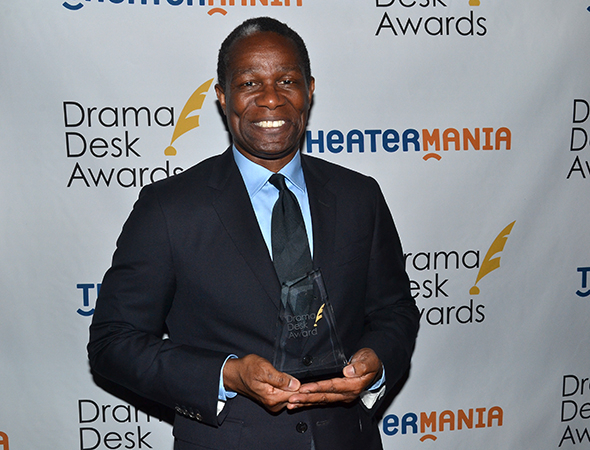 <p>John Douglas Thompson — Outstanding Solo Performance winner for <em>Satchmo at the Waldorf</em>.</p>