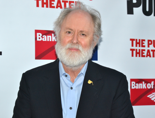 <p>John Lithgow readies his facial hair before taking on the role of King Lear for Shakespeare in the Park in July and August.</p><br />(© David Gordon)