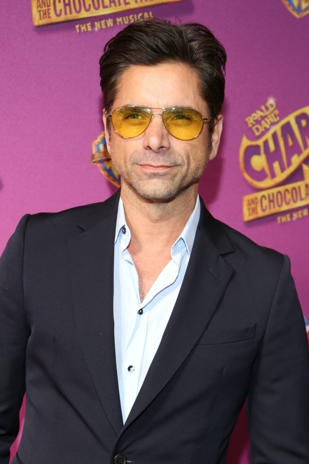 <p>John Stamos walks the red carpet before the show.</p><br />(© Tricia Baron)