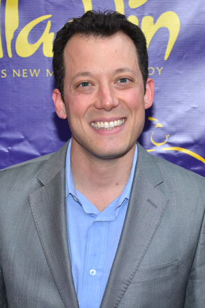 <p>John Tartaglia is thrilled to be on hand for <em>Aladdin</em>.</p><br />(© David Gordon)