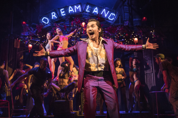 <p>Jon Jon Briones returns as the Engineer from the West End production.</p><br />(© Matthew Murphy)