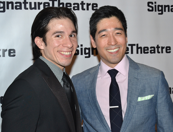 <p>Jon Rua and Peter Kim take on costarring roles in the production.</p><br />(© David Gordon)