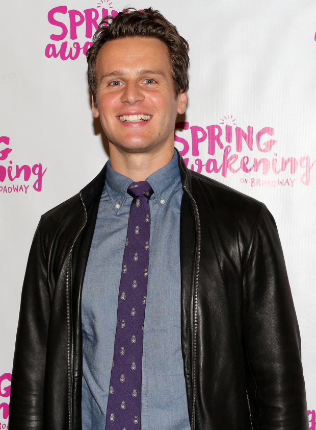 <p>Jonathan Groff played Melchior in the original Broadway production of <em>Spring Awakening</em> and received a Tony nomination for his work.</p><br />(© David Gordon)
