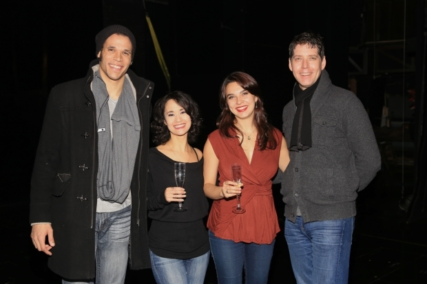 <p>Jordan Donica, Ali Ewoldt, Rachel Eskenazi-Gold, and James Barbour are pleased to head the cast.</p><br />(© Tricia Baron)