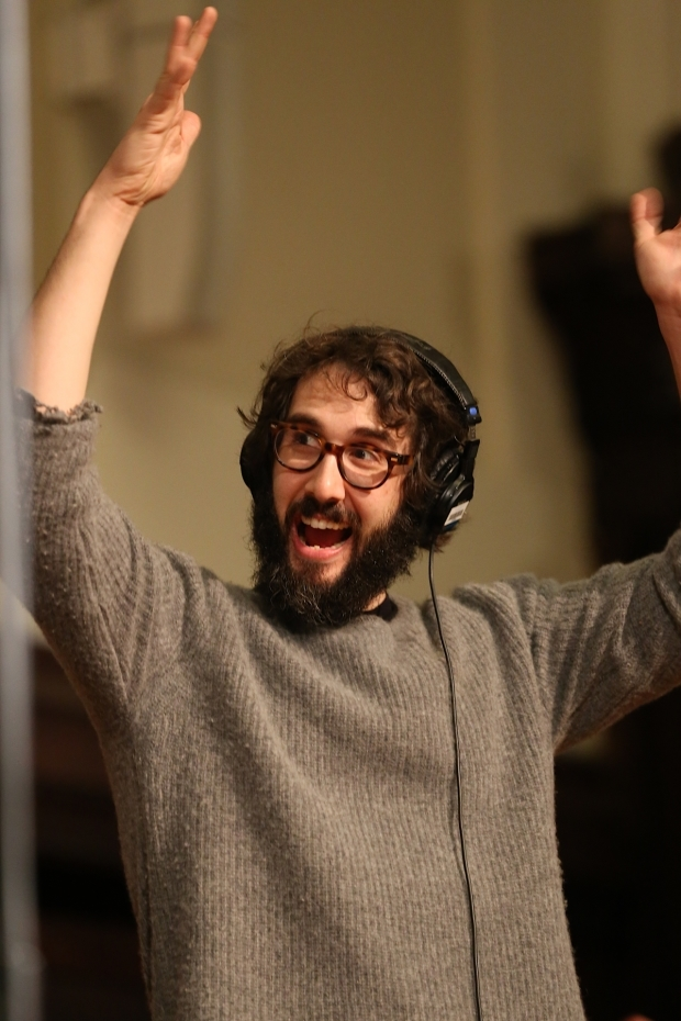 <p>Josh Groban had a great time recording.</p><br />(© Tricia Baron)