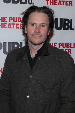 <p>Broadway&#39&#x3B;s Josh Hamilton came out to support a new American musical.</p><br />(© Seth Walters)