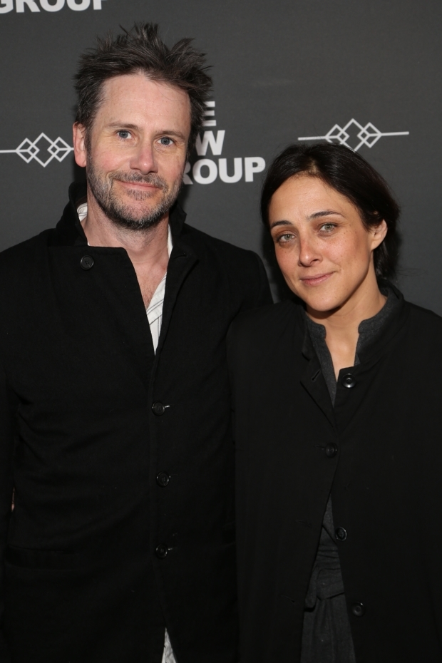 <p>Josh Hamilton and Lily Thorne pose for a photo.</p><br />(© Tricia Baron)