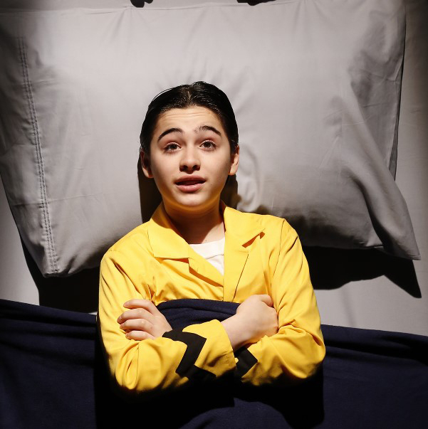 <p>Joshua Colley heads the cast of <em>You&#39&#x3B;re a Good Man, Charlie Brown</em> in the title role.</p><br />(&copy&#x3B; Carol Rosegg)