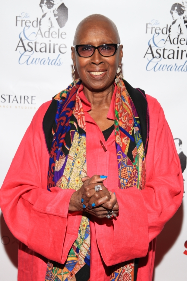 <p>Judith Jamison, artistic director emeritus of Alvin Ailey American Dance Theater, was presented with the Douglas Watt Lifetime Achievement Award.</p><br />(© Tricia Baron)
