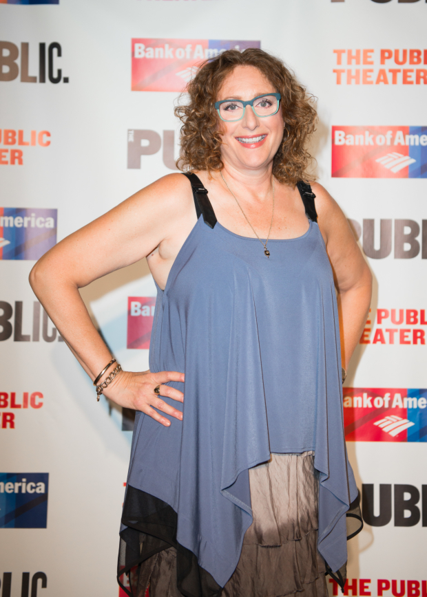 <p>Judy Gold plays Gremio in the production.</p><br />(© Allison Stock)