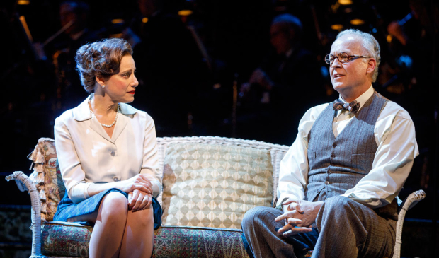<p>Judy Kuhn and Reed Birney share a scene.</p><br />(© Joan Marcus)