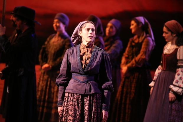 <p>Judy Kuhn takes center stage.</p><br />(© Joan Marcus)