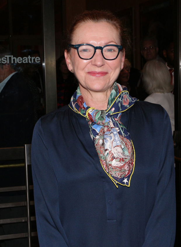 <p>Julie White is on hand for <em>Time and the Conways</em>.</p><br />(© David Gordon)